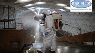 Дезинфекция подземных станций скоростного